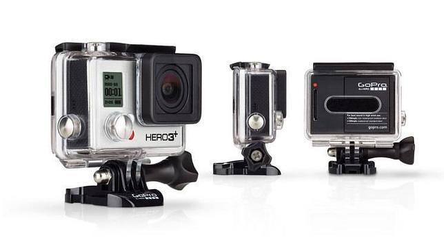 Hero3+, la cámara más pequeña de GoPro
