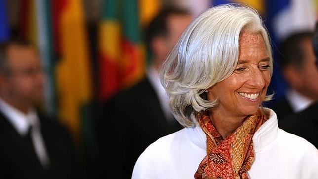 Lagarde cobró 352.859 euros el último año, un 1,8% más