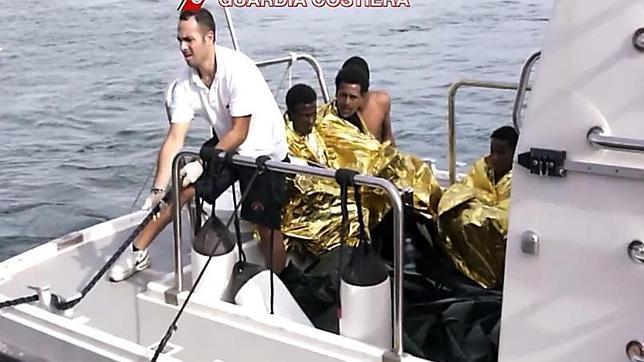 Los supervivientes de Lampedusa: «Los pesqueros no han querido ayudarnos»