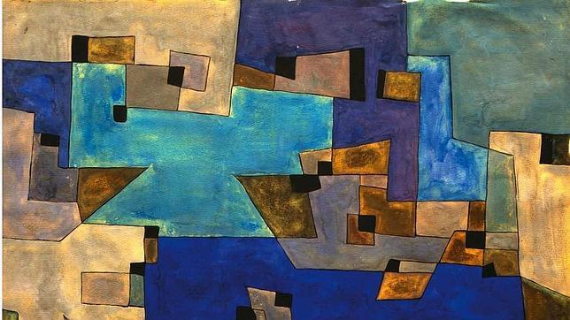 «Composizione» de 1953 de Carol Rama