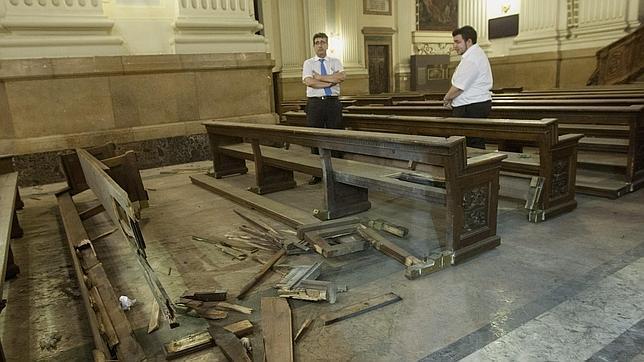 Un grupo de extrema izquierda colocó el artefacto explosivo en la Basílica de El Pilar