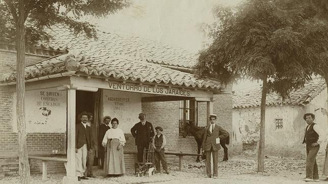 El «Ventorro de los Jaraices» donde fue reconocido el anarquista Mateo Morral por los venteros. El terrorista mató a un guardia y posteriormente se suicidó