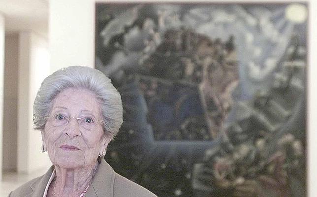 Fallece a los 101 años la pintora Ángeles Santos Torroella