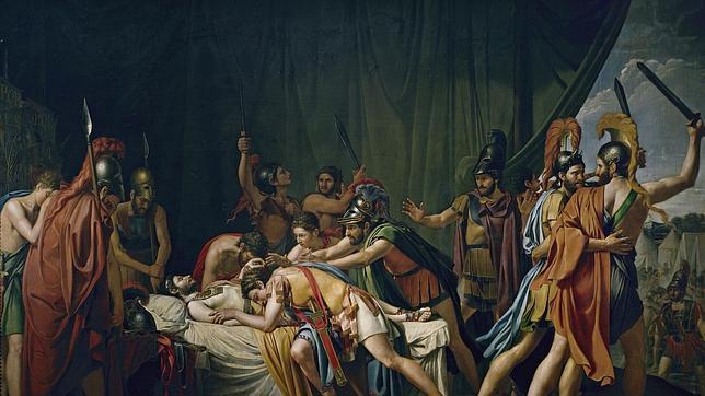 La muerte de Viriato por José Madrazo