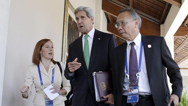 John Kerry: el cierre del Gobierno no afectará a los compromisos con los aliados