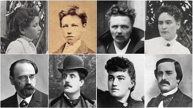 Retratos de finales del siglo XIX y principios del XX