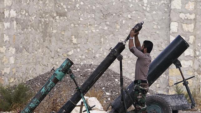 Los rebeldes sirios se parten en tres