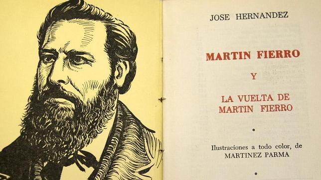 En «El camino de Ida», de Piglia, podemos encontrar ecos del «Martín Fierro» de José Hernández (en la imagen)