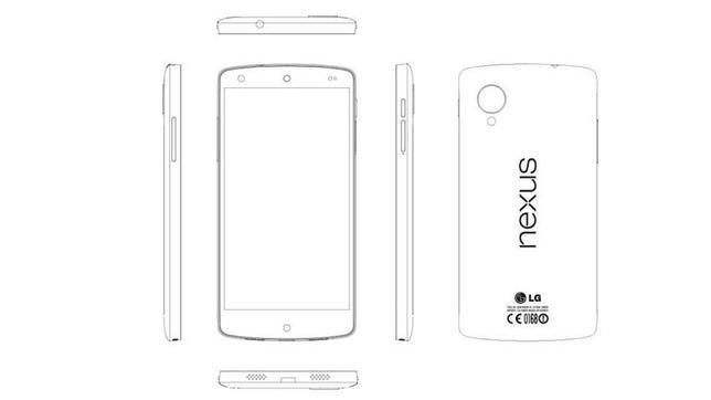 Así será el nuevo móvil de Google: Nexus 5