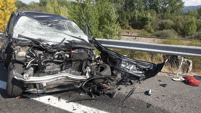 Accidente deja un fallecido y tres heridos