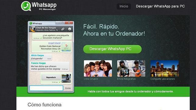 El timo del «WhatsApp para PC»