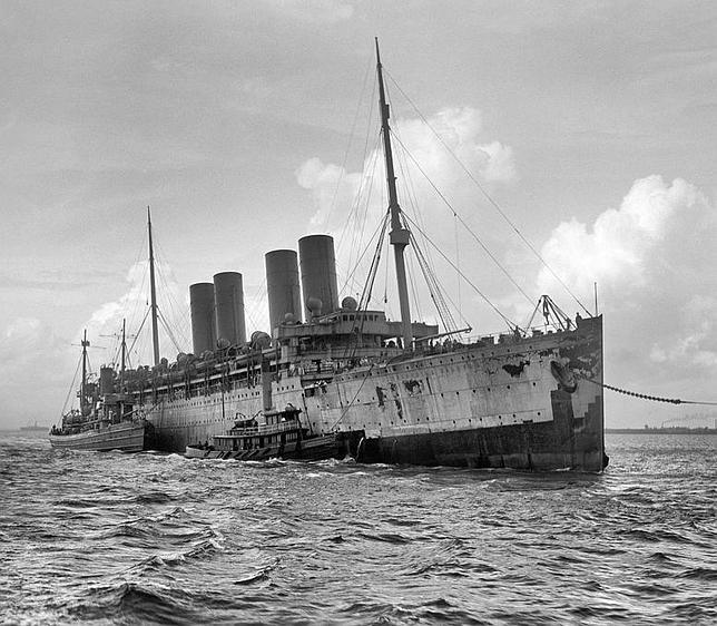 Hallan el «Kaiser Guillermo el Grande» en aguas del Sáhara un siglo después de su naufragio