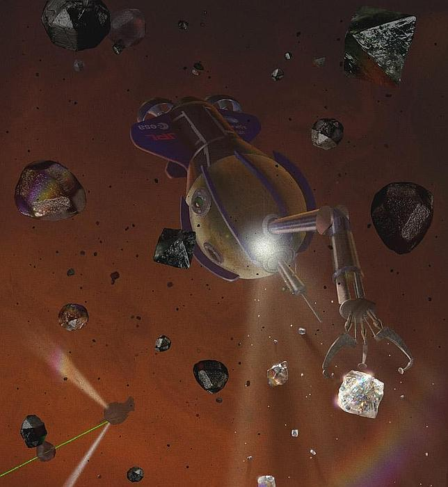 En Júpiter y Saturno llueven diamantes