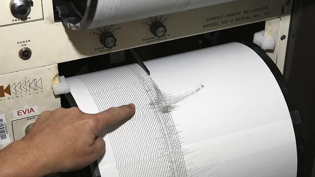 Los terremotos se miden mediante la escala Richter