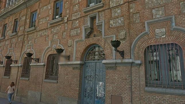 Sede de UGT en el antiguo convento de las «Arrecogidas»