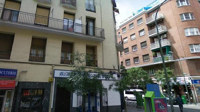 Calle Galileo a la altura del número 51, última vivienda de Hildegart Rodríguez
