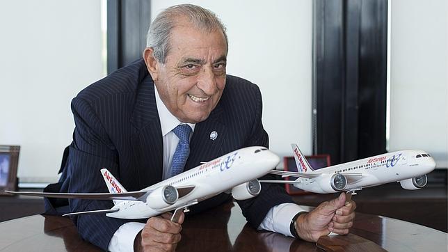 Juan José Hidalgo: «Air Europa va a comprar esta semana otros ocho aviones»