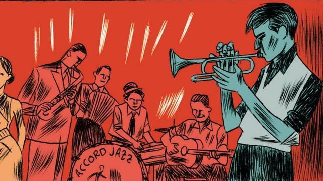 «Piscina Molitor», la vida en cómic de Boris Vian