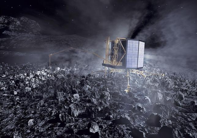 Rosetta despertará dentro de cien días
