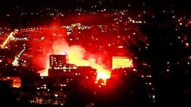 La clasificación de Bosnia para el Mundial desata la locura en las calles de Sarajevo