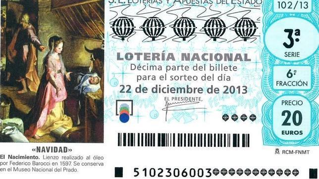 Lotería de Navidad 2013: ¿Cómo serán los décimos de estas navidades?