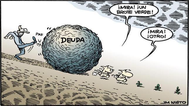 La desorbitada deuda pública, cuando la solución se convierte en problema