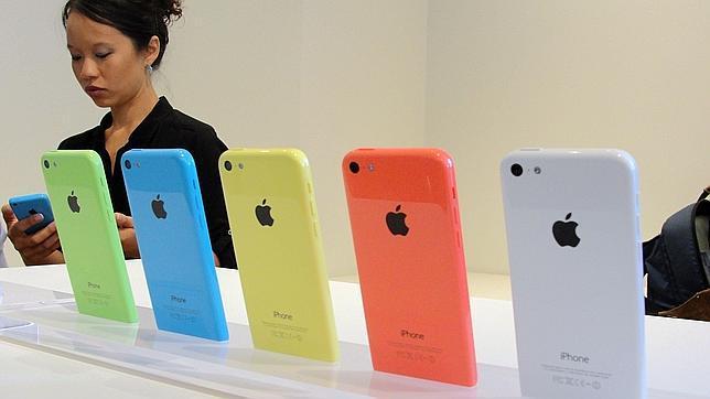 Apple reduce la producción del iPhone 5C por la baja demanda