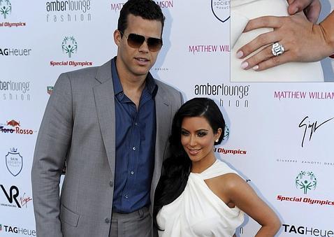 El ex de Kim Kardashian subasta el anillo de compromiso que le regaló