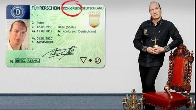 El autoproclamado rey de Alemania irá a la carcel