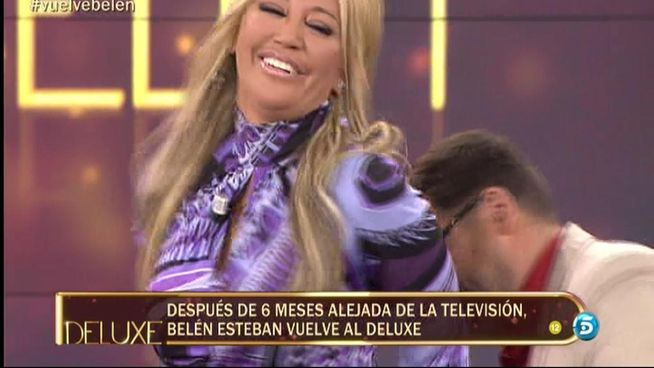 Belén Esteban reaparece: «Tenía problemas de adicciones que ya no existen»