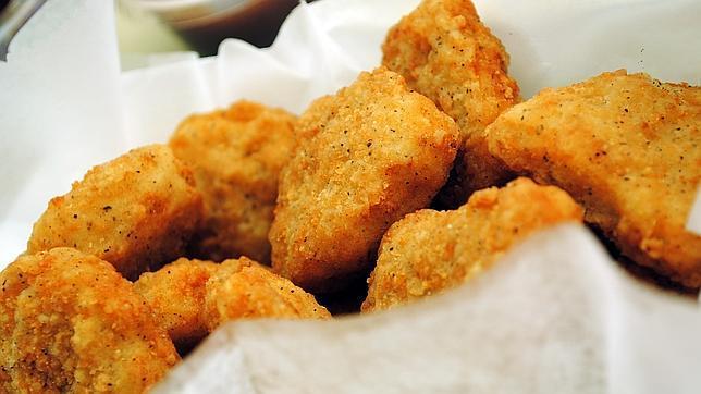 Lo que hay en realidad dentro de los «nuggets» de pollo
