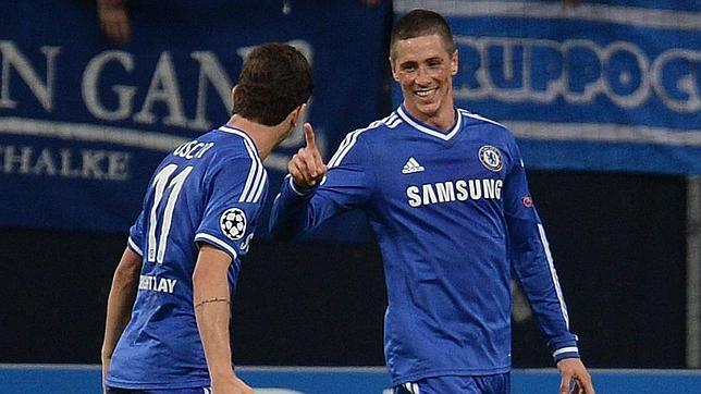 Un doblete de Fernando Torres pone líder al Chelsea de Mourinho