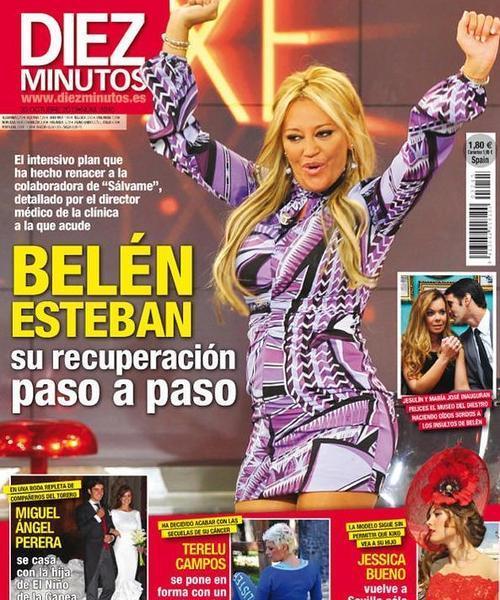 Belén Esteban, Terelu y el torero Perera, portadas de las revistas