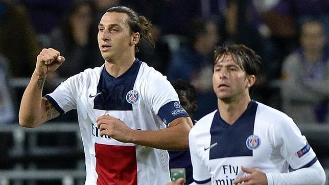 Cuatro golazos de Ibrahimovic