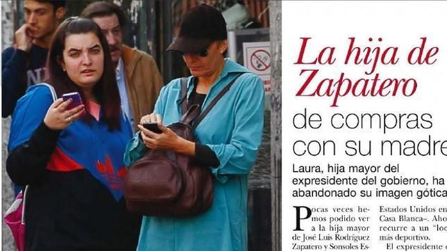 Sonsoles Espinosa y su hija Laura, de compras por Madrid