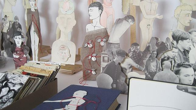 Detalle del proyecto «Antología del artista secreto» (2013), de G. Martín Bermejo