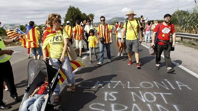 Cataluña, Aragón, Baleares y Valencia se unen «contra el imperialismo» de Mas
