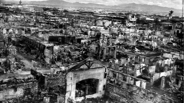 Manila, la víctima olvidada de la Segunda Guerra Mundial