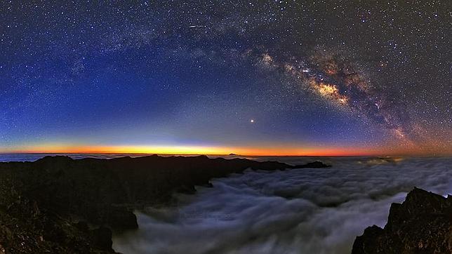 Vídeo: los cielos más increíbles de La Palma