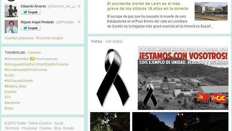 Twitter Y Facebook Se Inundan De Mensajes De Condolencia Y Lazos Negros