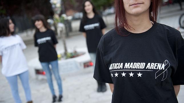 Homenaje a las 5 estrellas del Madrid Arena