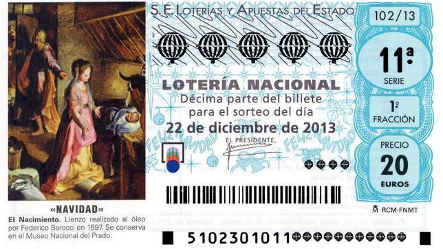 loteria de navidad apuestas: