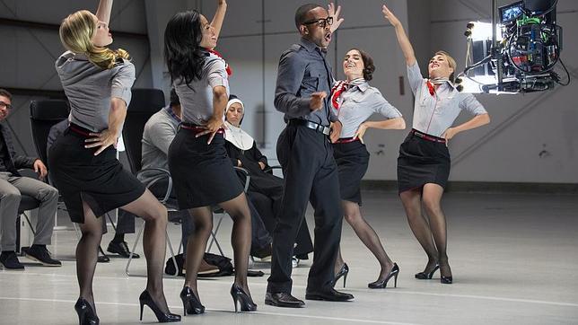Uno de los momentos del vídeo creado por Virgin America