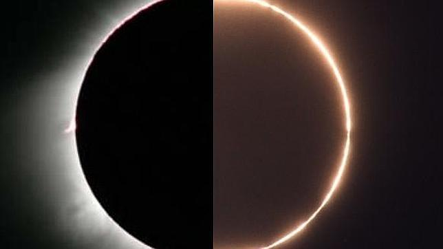 Cinco claves para ver el eclipse híbrido del domingo