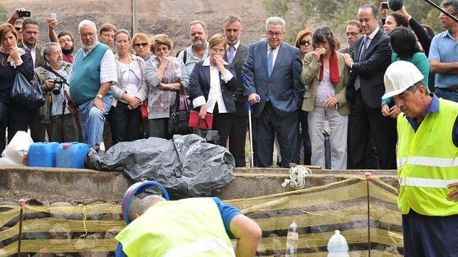 Buscan los restos de más de treinta desaparecidos de la Guerra Civil en Gran Canaria