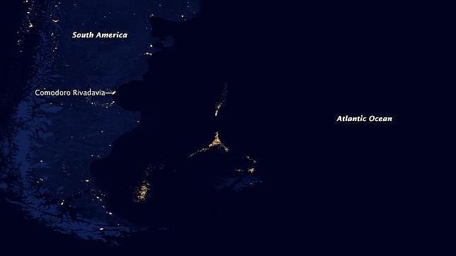 El misterio de la «ciudad de luz» en medio del Atlántico, aclarado por la NASA