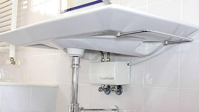 Un invento espa ol para ahorrar agua caliente for Wc sin agua