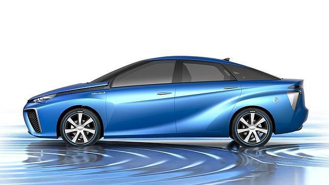 Este Toyota cambia de color según el ánimo del conductor
