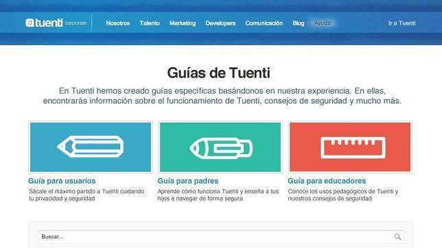 Tuenti lanza tres guías educativas para padres, educadores y usuarios