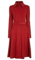Catalina de Cambridge y su nuevo abrigo rojo